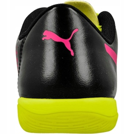 Chaussures Indoor Puma evoPOWER 4.3 Tricks noir, jaune, rose noir 3