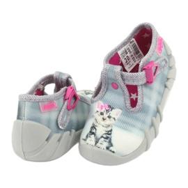 Chaussures enfant Befado Kitty 110P365 gris 3