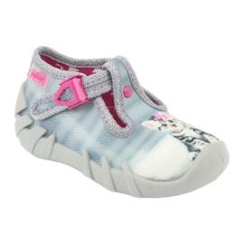 Chaussures enfant Befado Kitty 110P365 gris 1