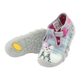 Chaussures enfant Befado Kitty 110P365 gris 4