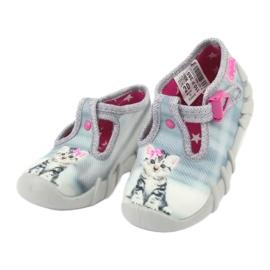 Chaussures enfant Befado Kitty 110P365 gris 2