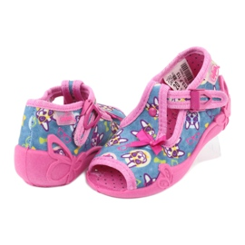 Chaussures enfant rose Befado 213P113 4