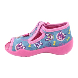 Chaussures enfant rose Befado 213P113 2