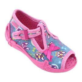 Chaussures enfant rose Befado 213P113 1