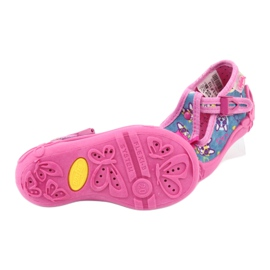Chaussures enfant rose Befado 213P113 5