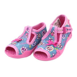 Chaussures enfant rose Befado 213P113 3
