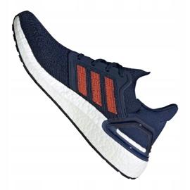 Adidas UltraBoost 20 M EG0693 chaussures marine 3