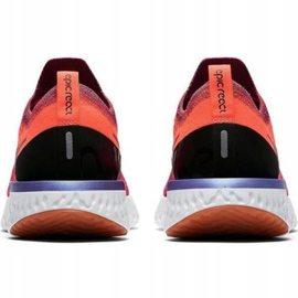 Nike Epic React Flyknit W AQ0070 601 chaussures de course rouge 2