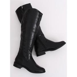 Bottes noires pour femmes A-6 Noir 1