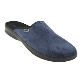 Befado chaussures pour hommes pu 548M018 noir marine 2