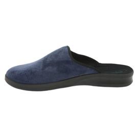 Befado chaussures pour hommes pu 548M018 noir marine 3