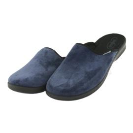 Befado chaussures pour hommes pu 548M018 noir marine 4