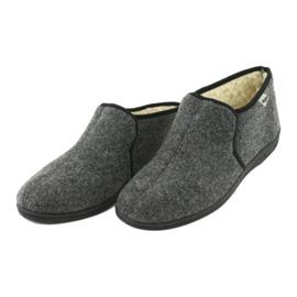 Chaussures Befado pour hommes 730M045 gris 4
