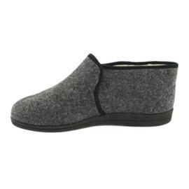 Chaussures Befado pour hommes 730M045 gris 3