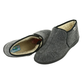Chaussures Befado pour hommes 730M045 gris 5