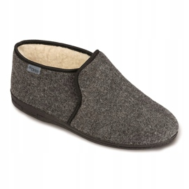Chaussures Befado pour hommes 730M045 gris 1