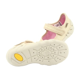 Chaussures enfant Befado 109P152 jaune 7