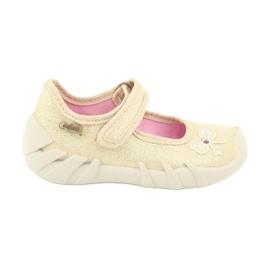 Chaussures enfant Befado 109P152 jaune 2