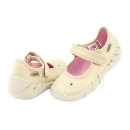 Chaussures enfant Befado 109P152 jaune 6