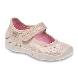 Chaussures enfant Befado 109P152 jaune 1