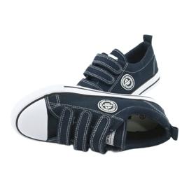 American Club Sneakers enfant américain avec velcro LH33 4