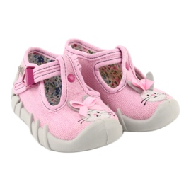 Chaussures enfant Befado 110P374 rose 5