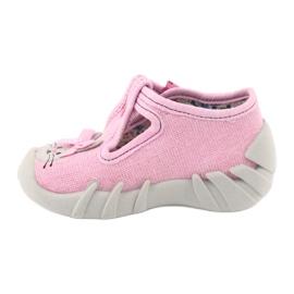 Chaussures enfant Befado 110P374 rose 3
