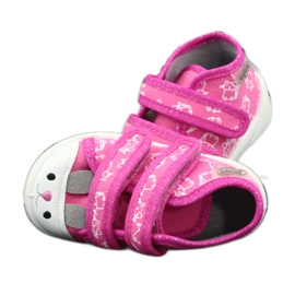 Chaussures enfant Befado orange 212P066 rose 9