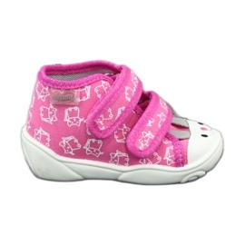 Chaussures enfant Befado orange 212P066 rose 1