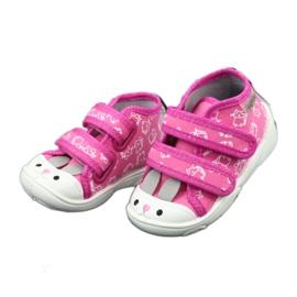Chaussures enfant Befado orange 212P066 rose 5