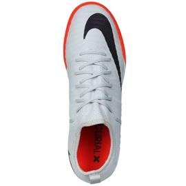 Chaussures d'intérieur Nike MercurialX Finale II gris noir 3