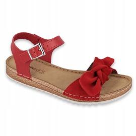 Chaussures femme Comfort Inblu 158D117 rouge 1