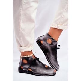 Chaussures femme Maciejka Popiel 03426-03 gris 4