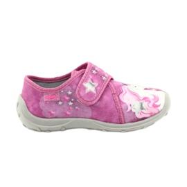 Befado chaussures pour enfants 560X118 rose 1