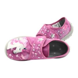 Befado chaussures pour enfants 560X118 rose 5