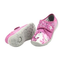 Befado chaussures pour enfants 560X118 rose 4