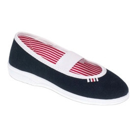 Chaussures Befado pour enfants 274X014 marine 1