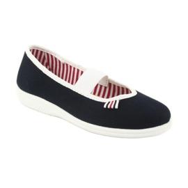 Chaussures Befado pour enfants 274X014 marine 2