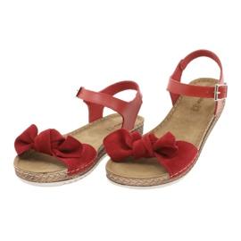 Chaussures femme Comfort Inblu 158D117 rouge 3