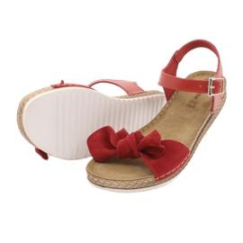 Chaussures femme Comfort Inblu 158D117 rouge 4