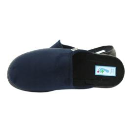 Befado chaussures pour hommes pu 132M006 marine 5