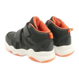 Chaussures enfant Befado 516X050 orange gris 5
