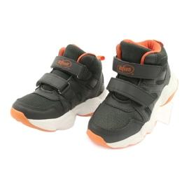 Chaussures enfant Befado 516X050 orange gris 3