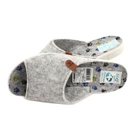 Chaussons en feutre Adanex 25494 gris 4