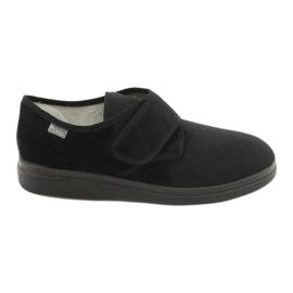 Befado chaussures pour hommes pu 036M007 noir 1