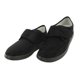 Befado chaussures pour hommes pu 036M007 noir 3