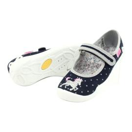 Befado chaussures pour enfants 114X414 marine gris 4