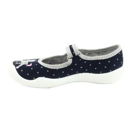 Befado chaussures pour enfants 114X414 marine gris 2