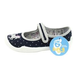 Befado chaussures pour enfants 114X414 marine gris 6