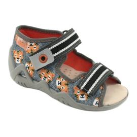 Chaussures enfants Befado jaune 350P016 gris multicolore 1